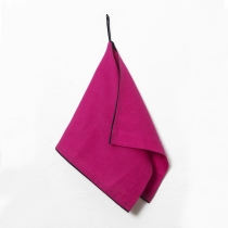 Small Towel. Fuchsia Pink