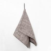 Linane väike rätik. Roosakas-halli tooni