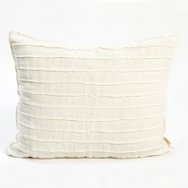 Linen Pillowcase. Natural White