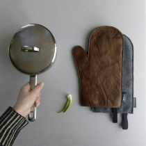 Leather Oven Glove