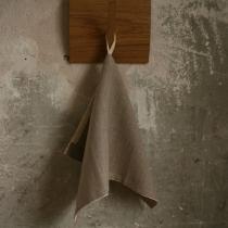 Linane väike rätik, hall silekude