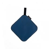 Leather Pot Holder, blue