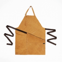 Leather Apron, camel yellow