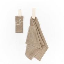 Linane väike rätik. Linasehall