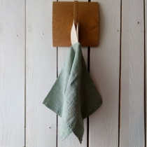 Linane väike rätik, mündiroheline kalasaba