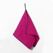 Linane väike rätik, fuksiaroosa